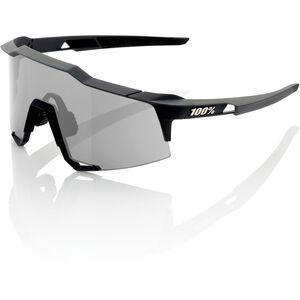 100% Speedcraft Glasses Tall soft tact black | smoke lense soft tact black | smoke lense