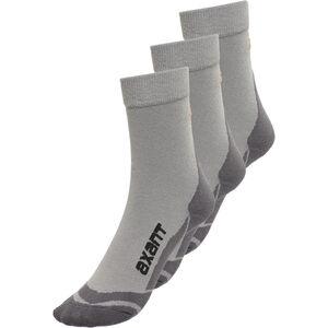 axant Trekking Socks 3er Pack grey-orange