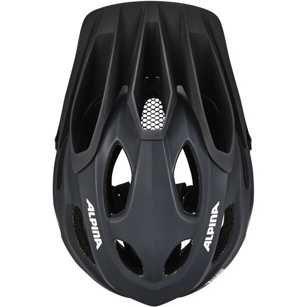 Alpina King Carapax Helmet black black