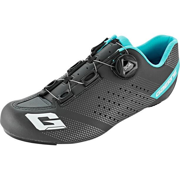 Gaerne Carbon G.Tornado Fahrradschuhe Damen black/light blue