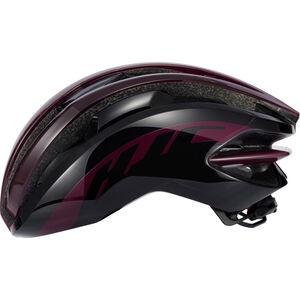 HJC IBEX Road Helmet gloss burgundy / black gloss burgundy / black