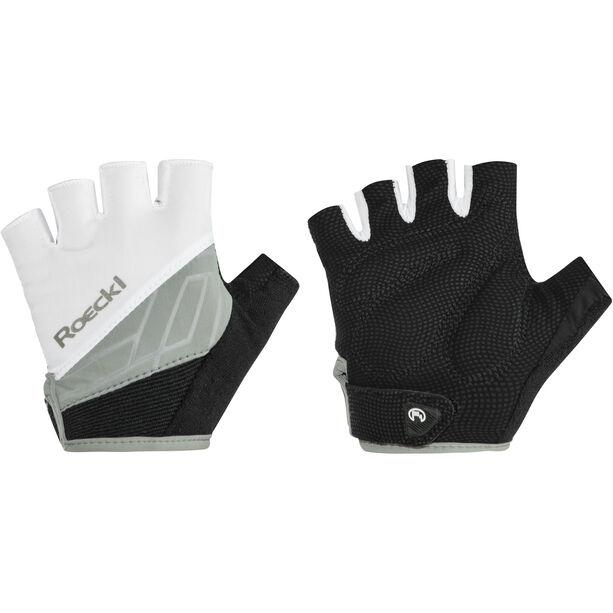 Roeckl Budapest Handschuhe weiß/schwarz