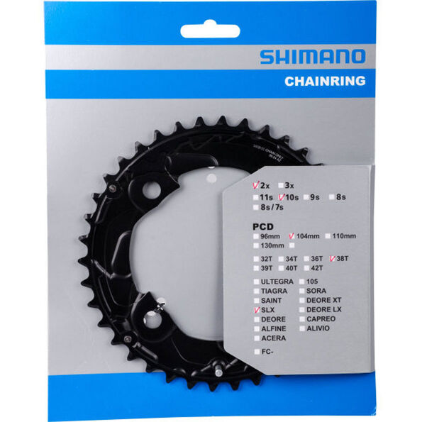 Shimano SLX FC-M677 Kettenblatt 10-fach schwarz