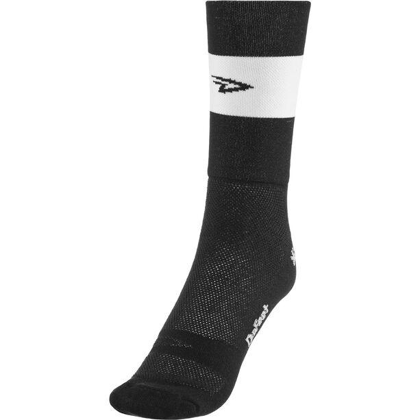 "DeFeet Aireator 5"" Double Cuff Socken team (schwarz)"