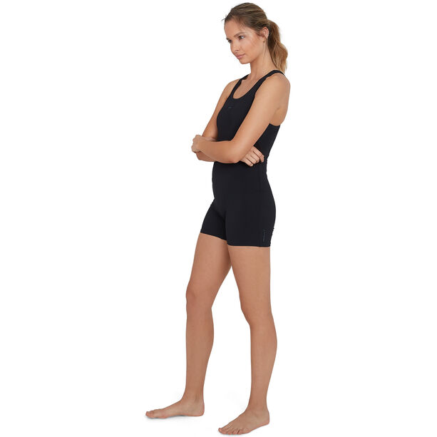 speedo Essential Endurance+ Legsuit Damen black/oxid grey