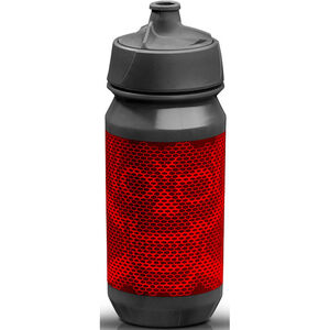 rie:sel design bot:tle 500ml skull honeycomb red skull honeycomb red