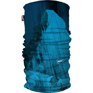 HAD Printed Fleece Tube matterhorn blue matterhorn blue