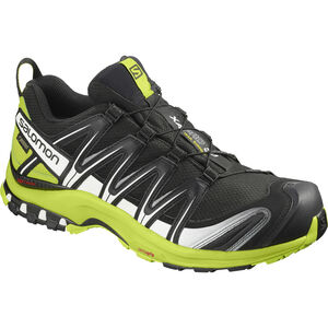 Salomon XA Pro 3D GTX Trailrunning Schuhe Herren black/lime green/white
