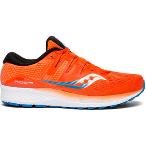 saucony Ride ISO Shoes Men Orange/Blue bei fahrrad.de Online