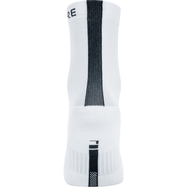 GORE WEAR M Mid Socken white/black