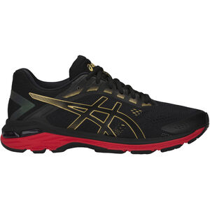 b0431e5c78a23c asics GT-2000 7 Shoes Herren black rich gold