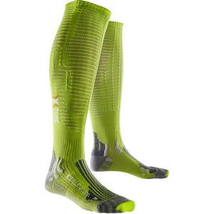 X-Bionic Effektor Accumulator Competition Long Socks green lime/pearl grey