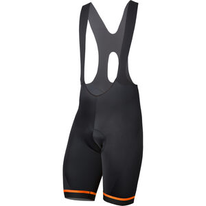 Etxeondo Kom 19 Bib Shorts Herren black-orange black-orange