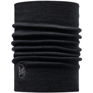 Buff Heavyweight Merino Wool Neck Tube solid black solid black