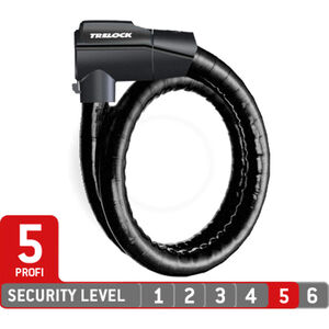 Trelock PK 560/100/26 Kabelschloss black black