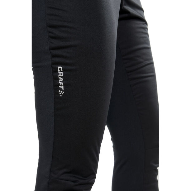 Craft Warm Train Windhose Damen black/monument