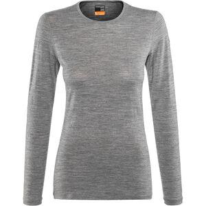 Icebreaker 200 Oasis LS Crew Shirt Damen gritstone heather gritstone heather