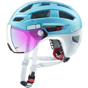 UVEX Finale Visor Helmet strato cool blue strato cool blue