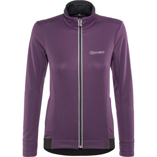 Gonso Alta Softshell Active Jacke Damen plum purple