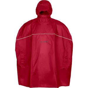 VAUDE Grody Poncho Kinder indian red indian red