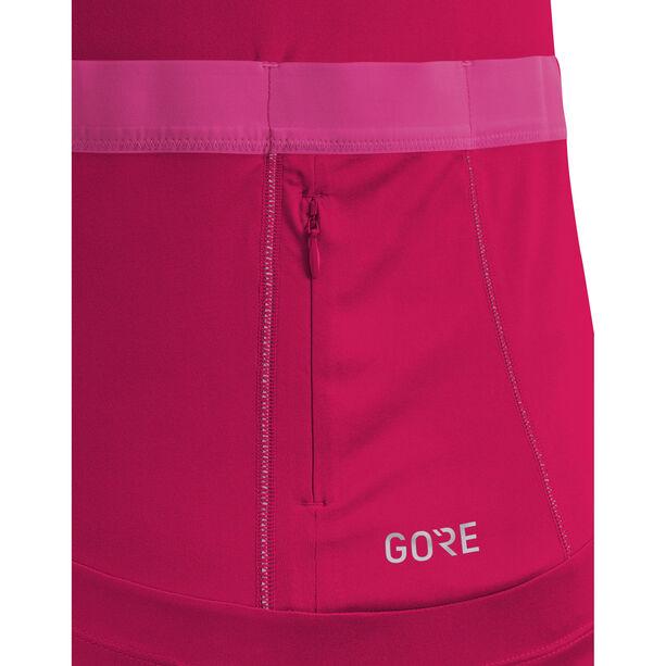 GORE WEAR C5 Jersey Damen jazzy pink/raspberry rose