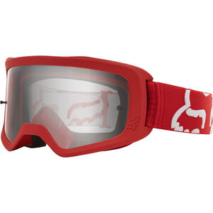 Fox Main II Race Brille red/clear red/clear