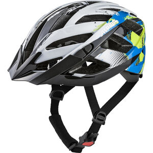 Alpina Panoma 2.0 Helmet white-cyan-green white-cyan-green