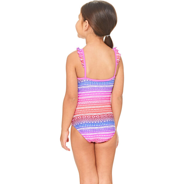 Zoggs Ikat Frill Classicback Swimsuit Mädchen