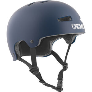 TSG Evolution Solid Color Helmet satin blue satin blue