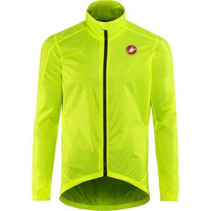 Castelli Squadra Jacket Herren yellow fluo yellow fluo