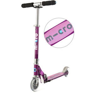 Micro Sprite Scooter purple stripe purple stripe