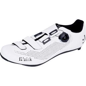 Fizik R4B Rennradschuhe Herren weiß/schwarz weiß/schwarz