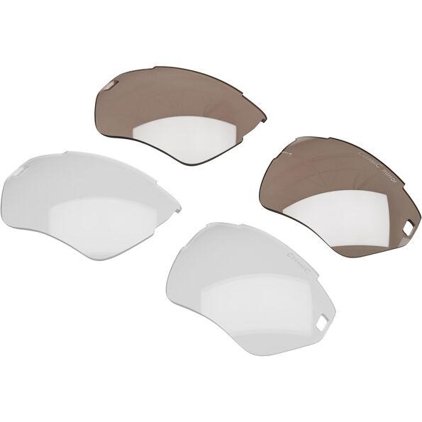 Alpina Tri-Scray S Glasses white-black