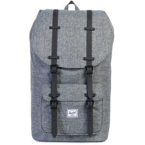Herschel Little America Backpack raven crosshatch/black rubber raven crosshatch/black rubber