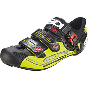 Sidi Genius 7 Shoes black/yellow