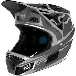 Fox Rampage Pro Carbon Bst Full Face Helmet Herren metallic silver metallic silver