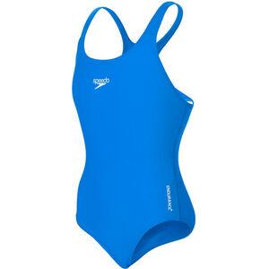 speedo Essential Endurance+ Medalist Swimsuit Mädchen neon blue neon blue