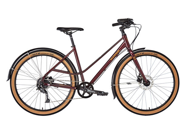 Kona Coco Women matt deep red/metallic gold matt deep red/metallic gold