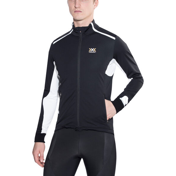 X-Bionic Running Winter Spherewind Light OW Jacket Men Black/White