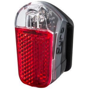 spanninga Pyro Rechargeable Rear Light StVZO black black