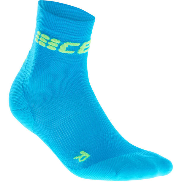 cep Dynamic+ Ultralight Short Socks Herren electric blue/green