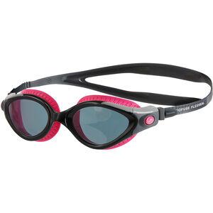 speedo Futura Biofuse Flexiseal Goggles Damen ecstatic pink/black/smoke ecstatic pink/black/smoke