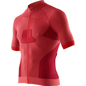 X-Bionic Race EVO Biking Shirt SS Men Dark Red/Red bei fahrrad.de Online