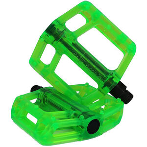 NC-17 CR44 Plastic Pro Pedale green green