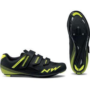 Northwave Core Shoes Herren black/yellow fluo black/yellow fluo