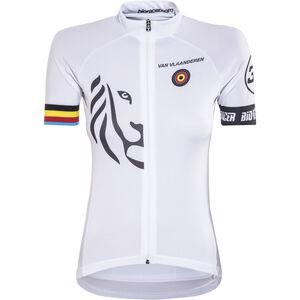 Bioracer Van Vlaanderen Pro Race Jersey Damen white white