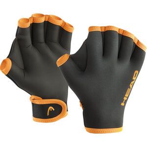Head Swim Gloves black/orange