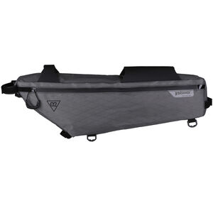 WOHO X-Touring Frame Bag L honeycomb iron grey honeycomb iron grey