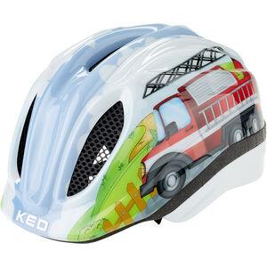 KED Meggy Trend Helmet Kids fire truck
