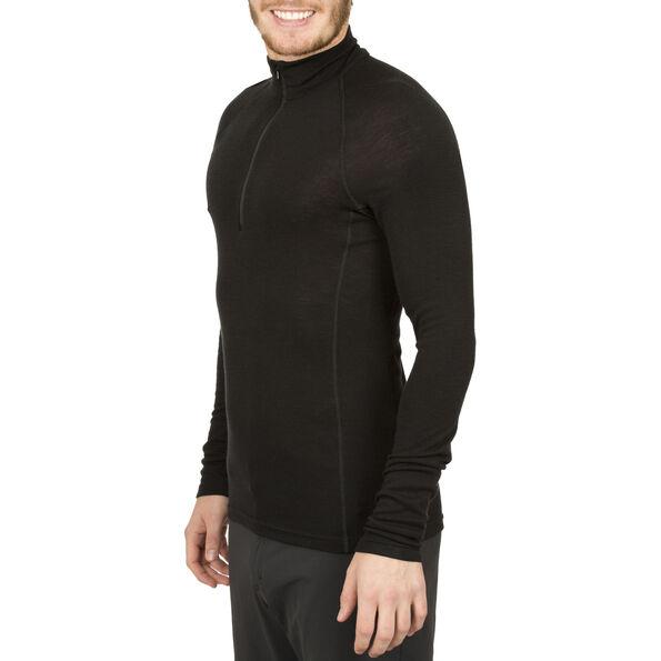 Icebreaker Everyday LS Half Zip Shirt Men black